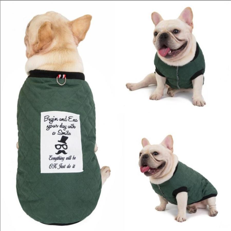 ドッグウェア 犬服 犬の服 秋冬 暖かい 防寒 保温防寒 犬 可愛い 二足 小型犬 中型犬 選べる フレンチブルドッグ服 3色 XS S M L XL Panni 送料無料|panni-fashion|05