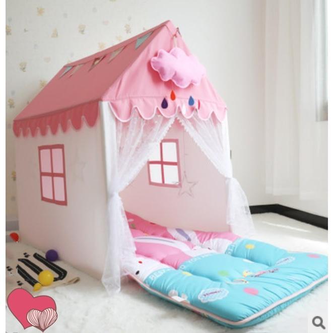 キッズ テント ハウス 子供プレゼント プリンセスハウス プレイハウス 室内 屋内 ベビー 幼児 おもちゃ 秘密基地 隠れ家 子供部屋 Panni 送料無料|panni-fashion|07