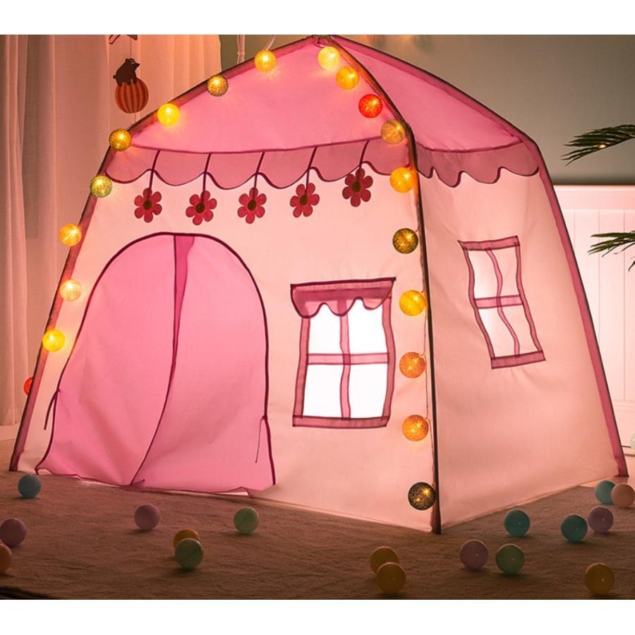 キッズ テント ハウス 子供プレゼント プレイハウス 室内 屋内 ベビー 幼児 おもちゃ おままごと 秘密基地 隠れ家 子供部屋 ギフト Panni 送料無料 panni-fashion 02