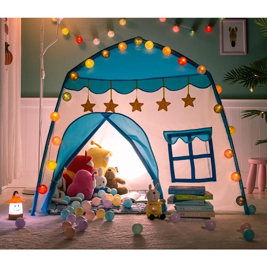 キッズ テント ハウス 子供プレゼント プレイハウス 室内 屋内 ベビー 幼児 おもちゃ おままごと 秘密基地 隠れ家 子供部屋 ギフト Panni 送料無料 panni-fashion 03