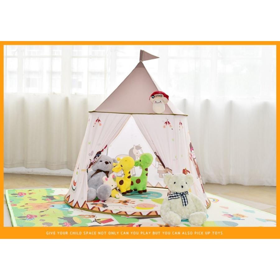 キッズ テント 子供テント ハウス 子供プレゼント プレイハウス 室内 屋内 ベビー 幼児 おままごと 秘密基地 隠れ家 子供部屋 ギフト Panni 送料無料|panni-fashion|11