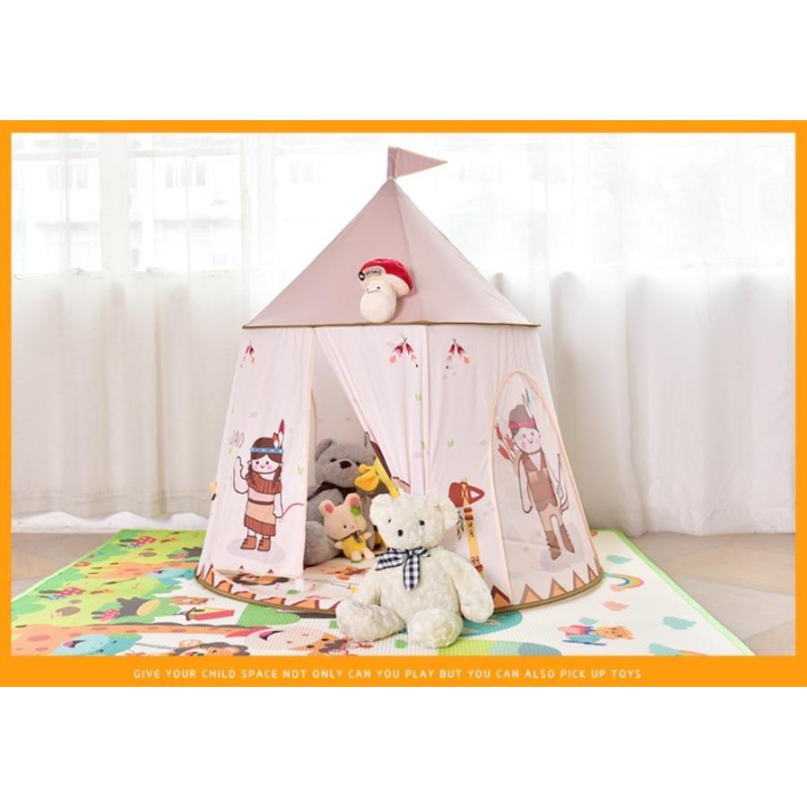 キッズ テント 子供テント ハウス 子供プレゼント プレイハウス 室内 屋内 ベビー 幼児 おままごと 秘密基地 隠れ家 子供部屋 ギフト Panni 送料無料|panni-fashion|12