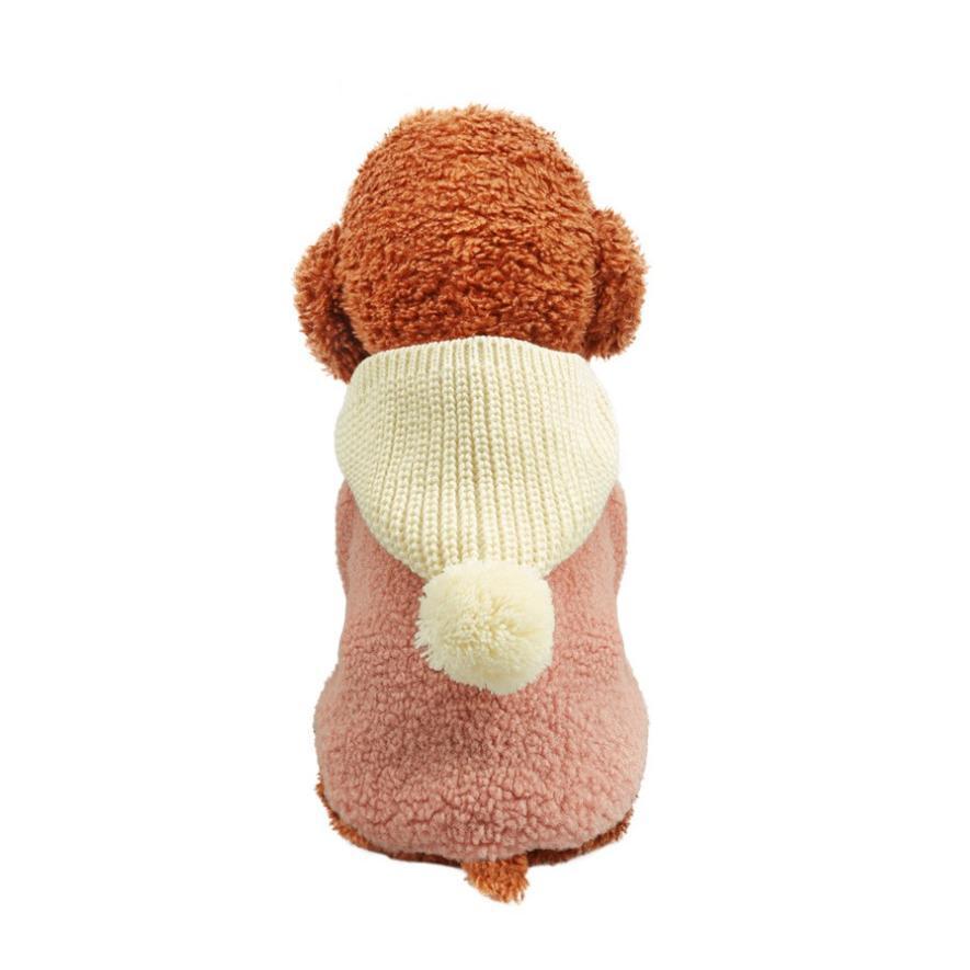 ペット 服 ウェア 犬 ドッグ 小型犬 猫 ネコ  デザイン 超〜可愛い モコモコ ふわふわ 温かい 防寒 メール便対応 panni123 05
