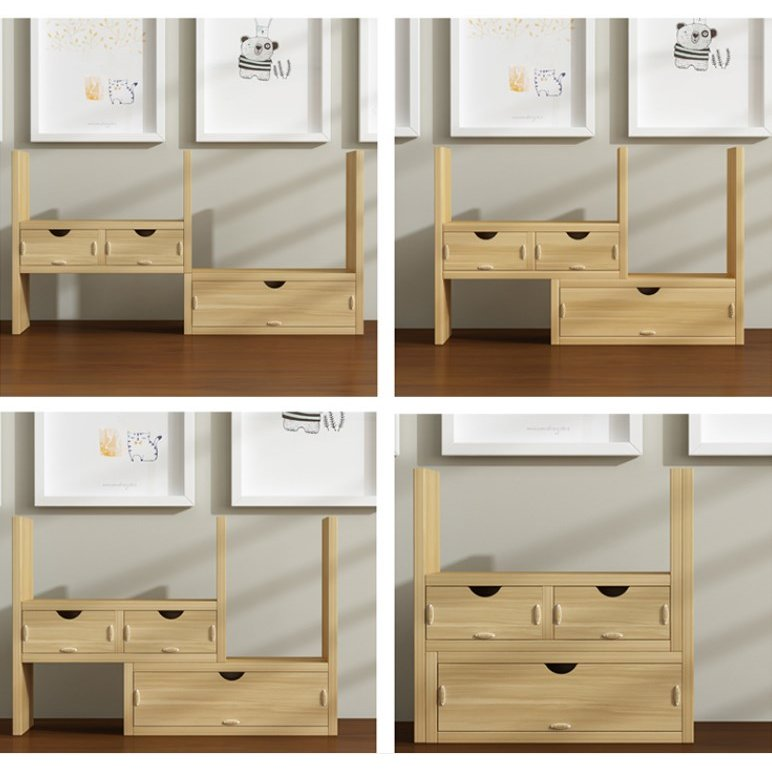 本棚 大容量 薄型 木製 おしゃれ カラーボックス 卓面本棚 大 容量 安い 書棚 ブックシェルフ  送料無料 panni2-shop 10