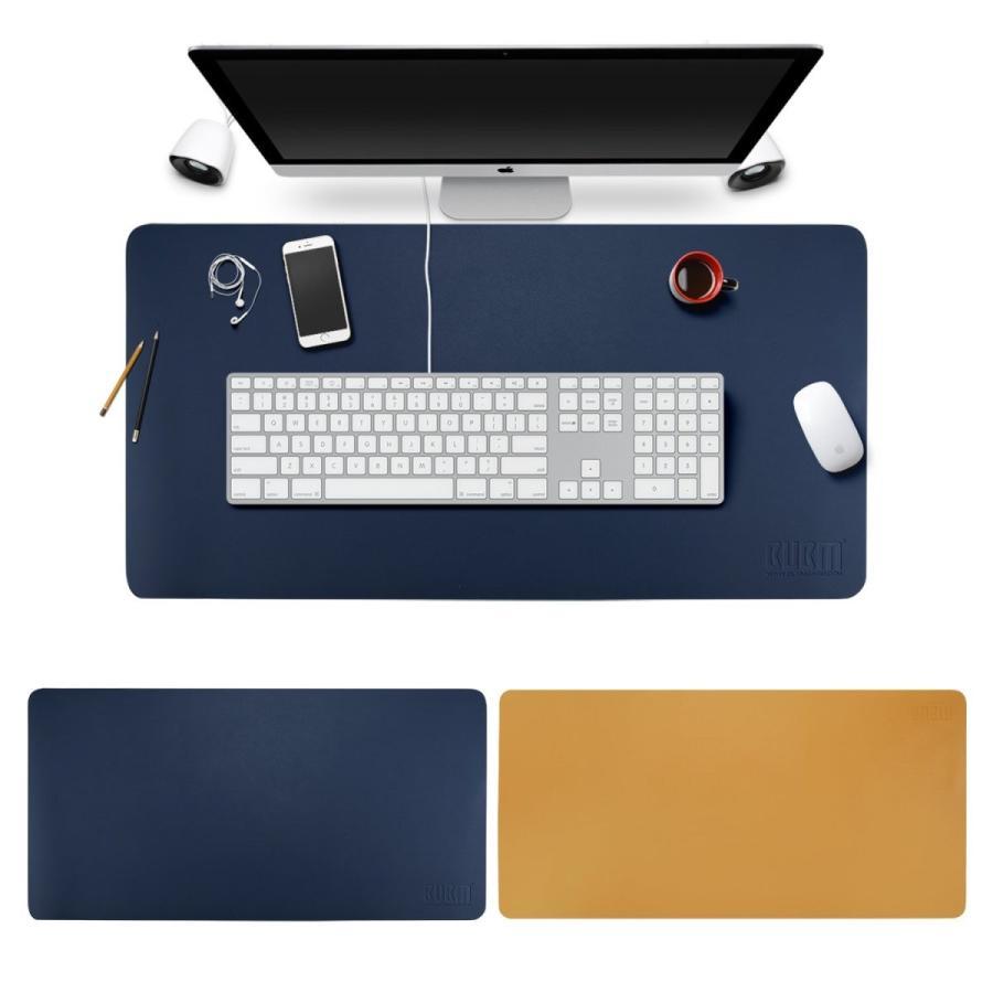 デスクマット 選択 業務用 可愛い マウスマット BUBM ノートパソコンマット オフィスデスクパッド マット レザー パソコンデスクパ 机 2020A W新作送料無料 PU