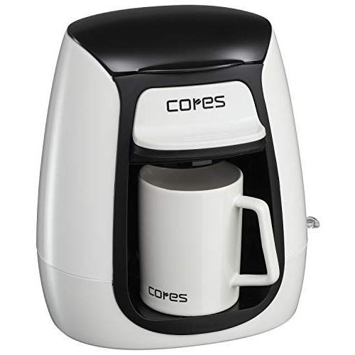 コレス コーヒーメーカー 1杯 マグカップ付 C311WH panstore