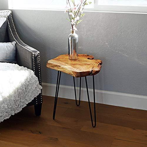 LAPTAIN サイドテーブル ナイトテーブル 出色 テーブル デスク 机 組み立て式 つくえ 高さ52cm 秀逸 簡単組立 おしゃれ
