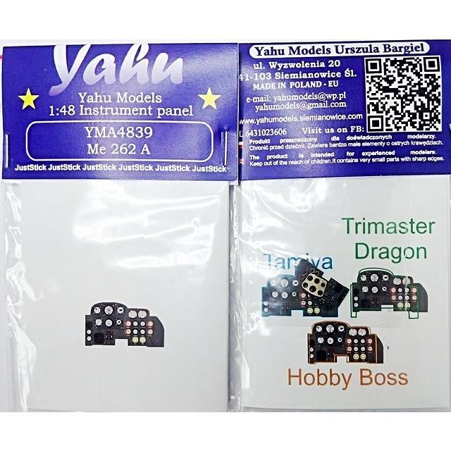 ヤフーモデル 送料無料 激安 お買い得 キ゛フト YMA4839 1 限定モデル 48 計器盤 メッサーシュミットMe-262A タミヤ用