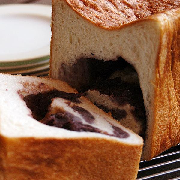 あん食パン 北海小豆100%の粒あんたっぷり 2斤 pao