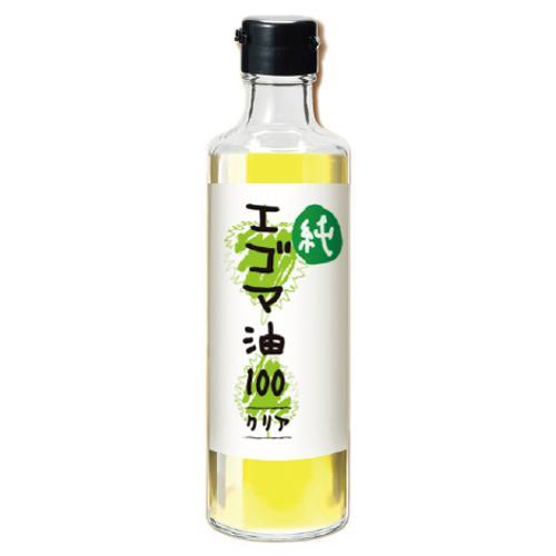 えごま油 『純エゴマ油(白)クリアタイプ 230g』 オメガ3 荏胡麻油 ...