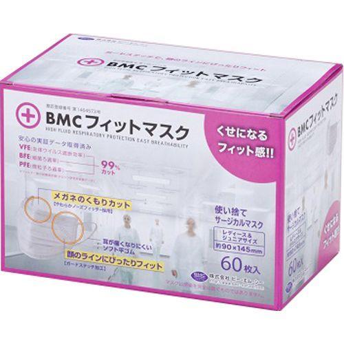 マスク 入荷 フィット Bmc