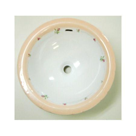 AFR-0400 おしゃれ 洗面器 洗面ボウル プラン·ド·パリ フランシーヌローズ ラウンドL