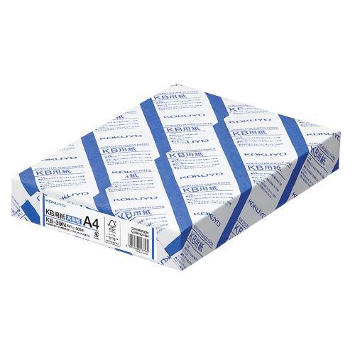 ご予約品 コクヨ KB-39N KB用紙共用紙 紙厚:64g平米 FSC認証 ※ラッピング ※ A4 枚数:500枚