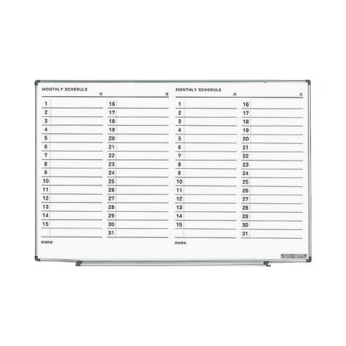 コクヨ FB-SL23MW ホワイトボード お買い得品 903×73×609mm 月行事横書き スピード対応 全国送料無料 軽量タイプ