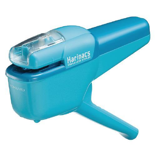コクヨ SLN-MSH110LB 国際ブランド 売り込み 針なしステープラー ハリナックス ハンディ約10枚 ライトブルー