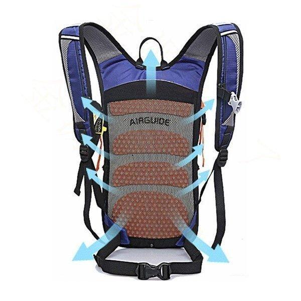 ランニングバッグサイクリングバッグハイドレーションサイクルバッグジョギング超軽量ウォーキングバッグリュックアウトドア大容量撥水加工|paradisekiwi|12