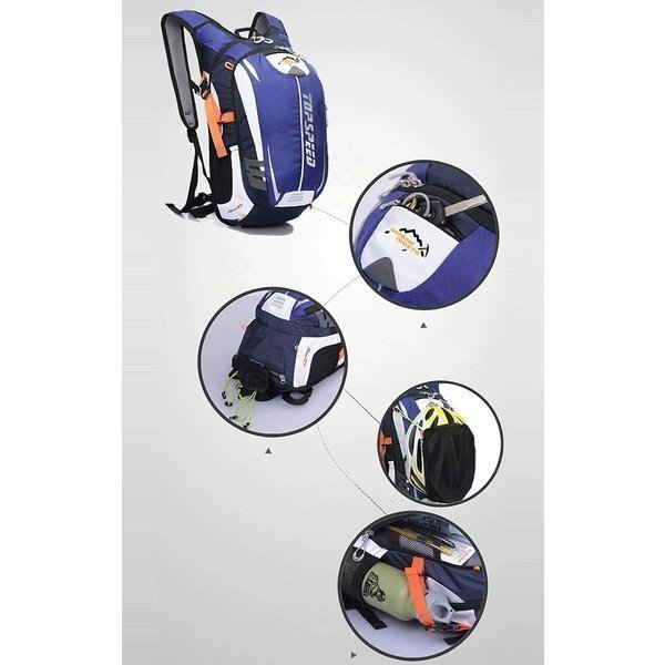 ランニングバッグサイクリングバッグハイドレーションサイクルバッグジョギング超軽量ウォーキングバッグリュックアウトドア大容量撥水加工|paradisekiwi|13