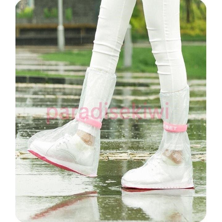 雨用 靴カバー チャック式 子供レインカバー 雨具 通学 ブーツカバー 防水 レインブーツ レインシューズ シューズカバー 雨対策 ご予約品 通勤 高い素材