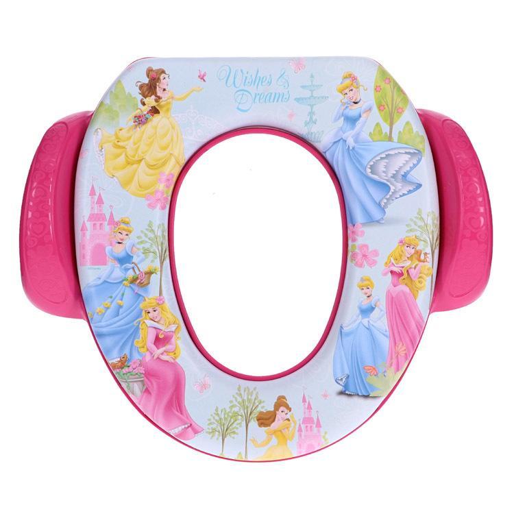 ディズニー プリンセス ガーデン お見舞い ソフト便座 disney_y 子供用トイレ 子供用便座 送料無料 一部地域を除く