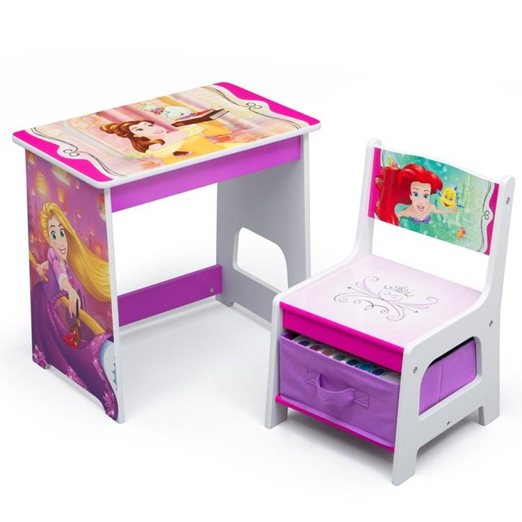 デルタ ディズニー 贈答品 プリンセス 激安セール デスクセット 学習机 子供家具 椅子セット Delta