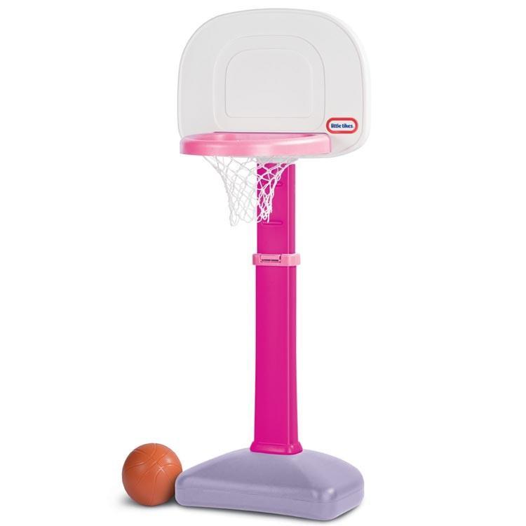 スポーツ玩具 リトルタイクス バスケットゴール セット 1歳半から ピンク スポーツ遊具 玩具 Littletikes 621383