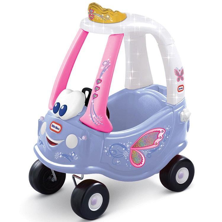 Online ONLY(海外取寄)/ 乗用玩具 リトルタイクス コージークーペ フェアリー 足こぎ 子ども おもちゃ Littletikes