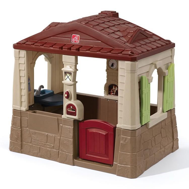 Online ONLY(海外取寄)/ ニート&テディ コテージ2 遊具 プレイハウス 家 屋外 ステップ2 STEP2 841600 /配送区分B