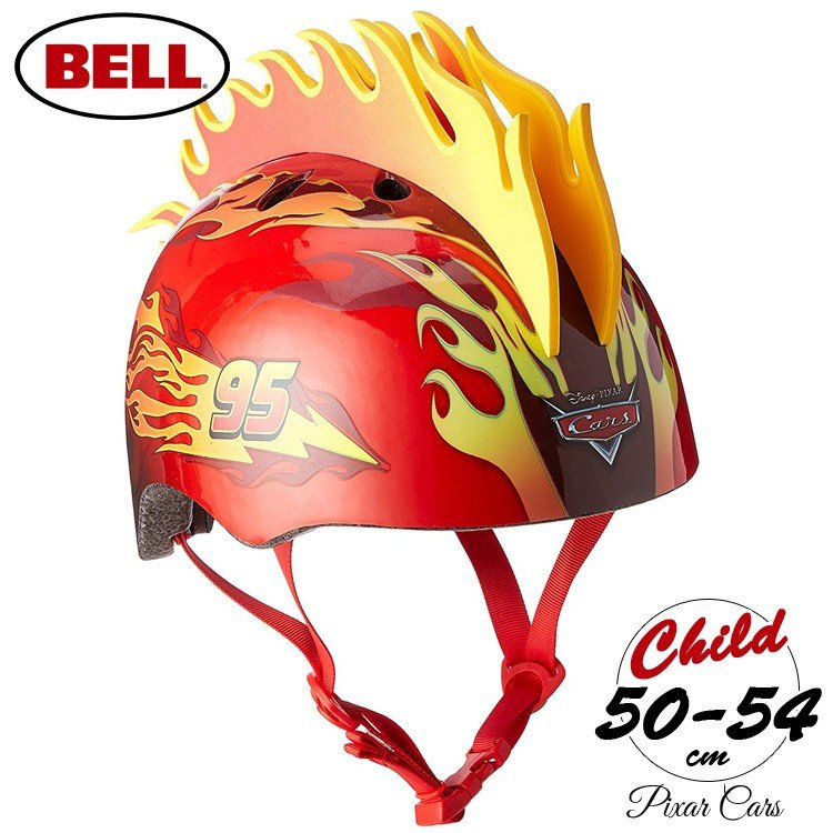winter sale ベル 子供 ヘルメット プロテクター ディズニー カーズ 3d
