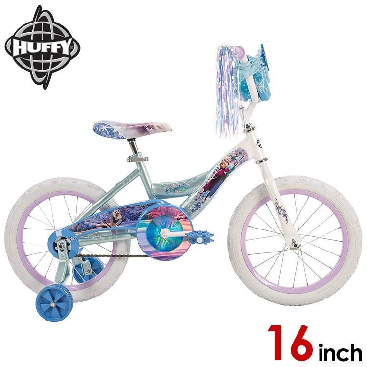 Online ONLY(海外取寄)/ 16インチ ディズニー アナと雪の女王 子供 キッズ ジュニア用 自転車 子ども 補助輪付 Huffy 21398