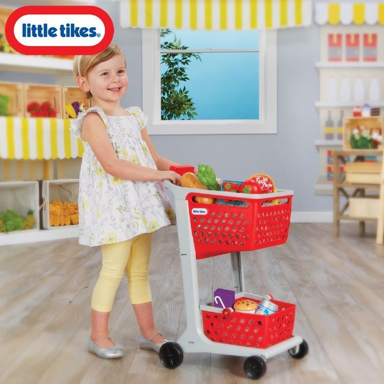 ままごと ごっこ遊び ショッピングカート リトルタイクス ショップラーン Littletikes 646720
