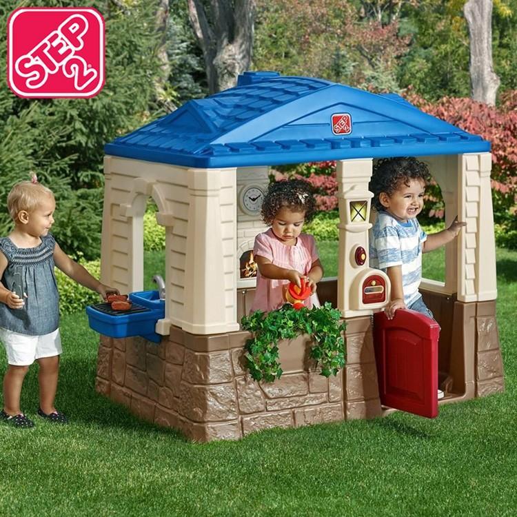 Online ONLY(海外取寄)/ プレイハウス ニート&テディ コテージ 遊具 プレイハウス 家 屋外 室内 ステップ2 STEP2 788700 /配送区分B