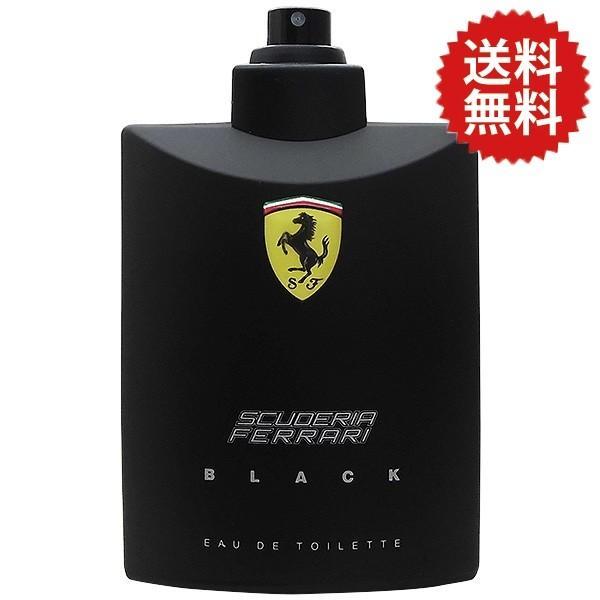 販売 テスター 未使用品 フェラーリ FERRARI 人気急上昇 ブラック SP EDT 訳あり 125ml