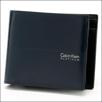 本店は カルバンクライン ヘイズ 二つ折り財布 Klein ネイビー ヘイズ Calvin Klein PLATINUM 二つ折り財布 ラッピング無料, ジョウエツシ:7668ec59 --- chizeng.com