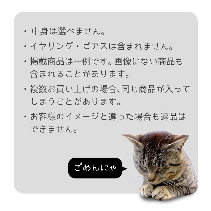 福袋 猫 ねこ ネコ アクセサリー アクセ キャット にゃんこ 黒猫 r2018_ss ヘアアクセ ネックレス ねこぶくろ ギフト プレゼント pariskids-net 10