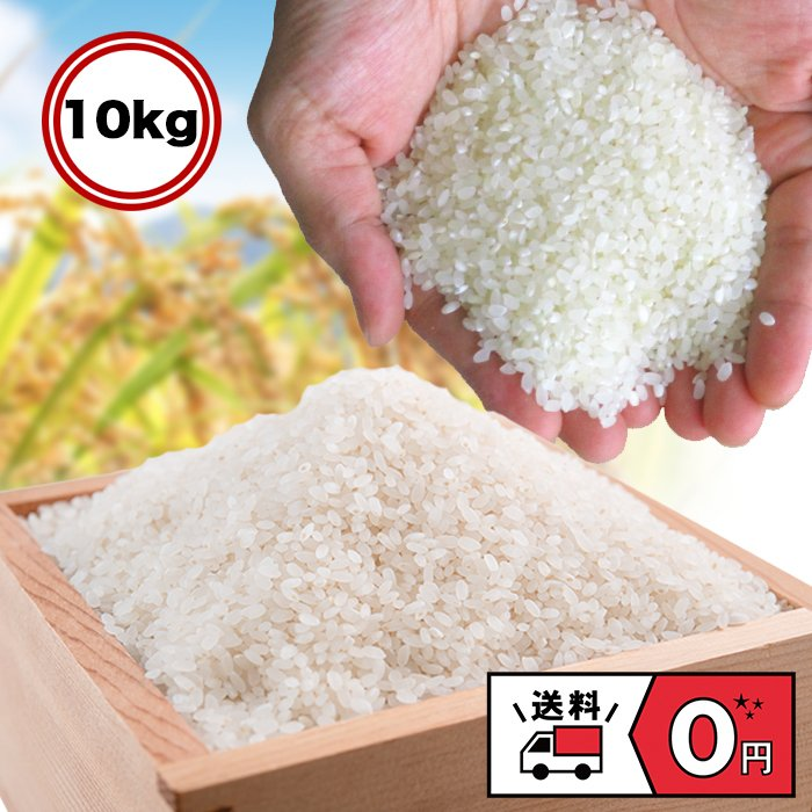 セール中 米 お米 新米 米 白米 精米 令和2年産 日本のお米 10kg  ブレンド米 国内産 10kg 毛利米穀 ブレンド 10キロ 送料無料 即日発送|park001