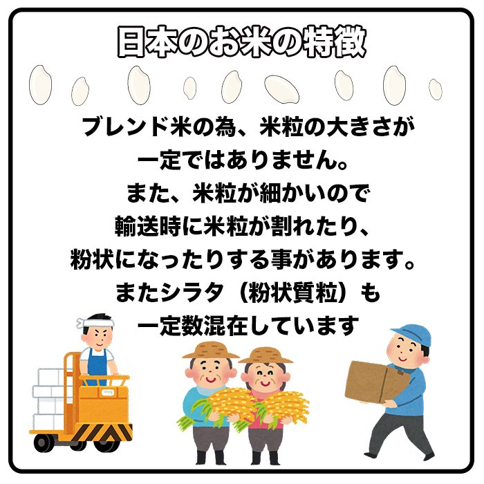 セール中 米 お米 新米 米 白米 精米 令和2年産 日本のお米 10kg  ブレンド米 国内産 10kg 毛利米穀 ブレンド 10キロ 送料無料 即日発送|park001|10