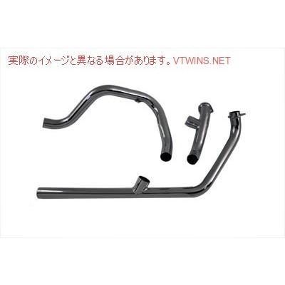 【取寄せ】Dual Crossover Chrome Exhaust System V-Twin V-TWIN 品番 29-1101  (参考品番: )  Vツイン アメリカ USA