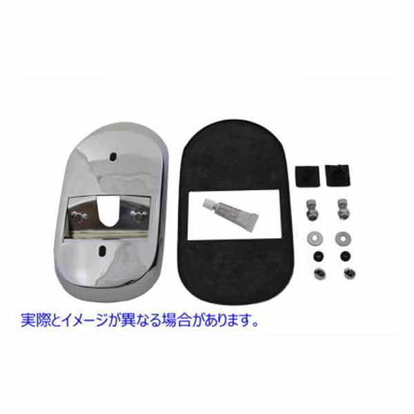 取寄せ Tail Lamp Adapter Chrome Wyatt 買収 Gatling Vツイン 参考品番: 品番 33-2162 2020 USA アメリカ V-TWIN