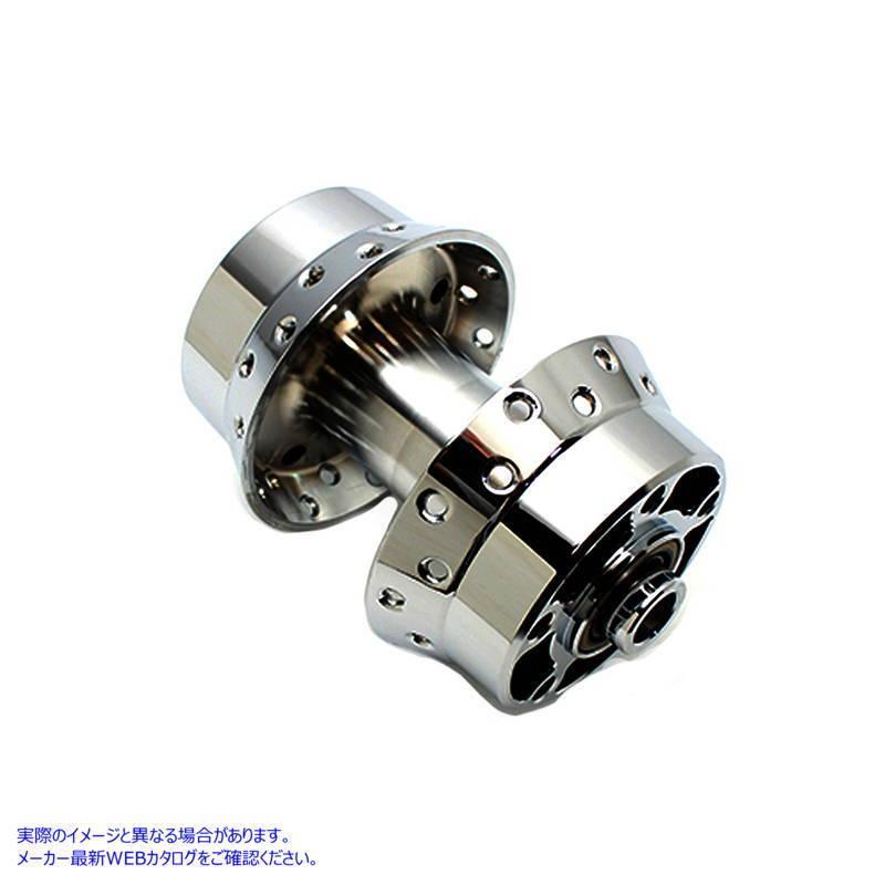 【米国取寄せ】Chrome Rear Wheel Hub V-Twin V-TWIN 品番 45-0324 Chrome Rear Wheel Hub (参考品番:40976-86A 43654-86A) Vツイン