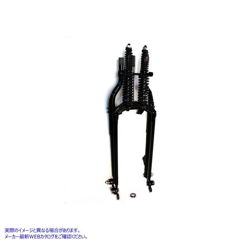 【取寄せ】20  Inline Spring Fork Assembly Black +2  V-TWIN 品番 49-2408  (参考品番: )  Vツイン アメリカ USA