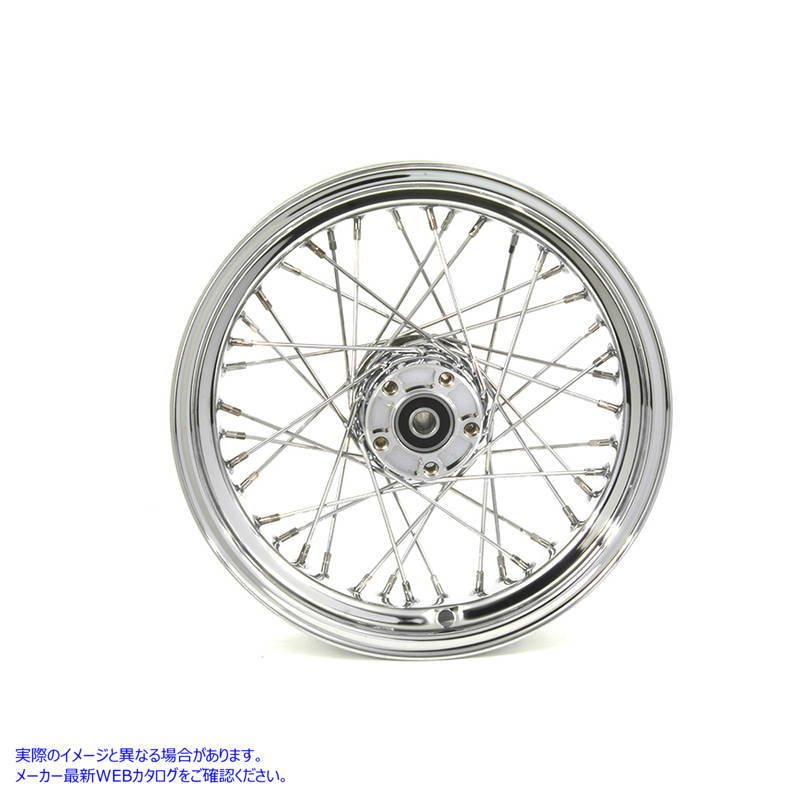 【取寄せ】16  Rear Spoke Wheel V-Twin V-TWIN 品番 52-1081  (参考品番:40975-00 )  Vツイン アメリカ USA