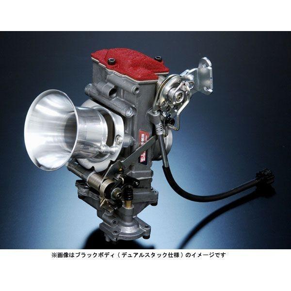ヨシムラ SR400/500(-'02)用 KEIHIN FCR-MJN39キャブレター/FUNNEL仕様 (シルバーボディ) 759-351-2500
