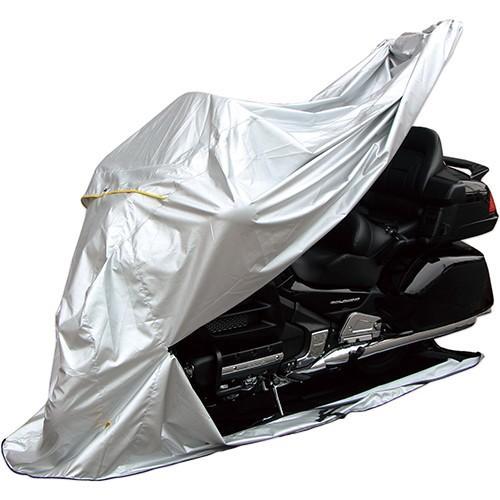 MARUTO バイク バイクカバー FC-2L 30000 バイク用 フルカバー 激安セール スポーツ シルバー 人気商品 2L 底付 サイドスタンド用 600cc〜1400cc ビッグスク