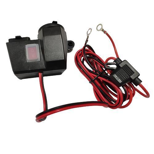 EnergyPrice エナジープライス バイク 安心の実績 高価 買取 強化中 その他電子機器関連 バイク用 新作販売 USB2ポート USB電源付きシガーソケット