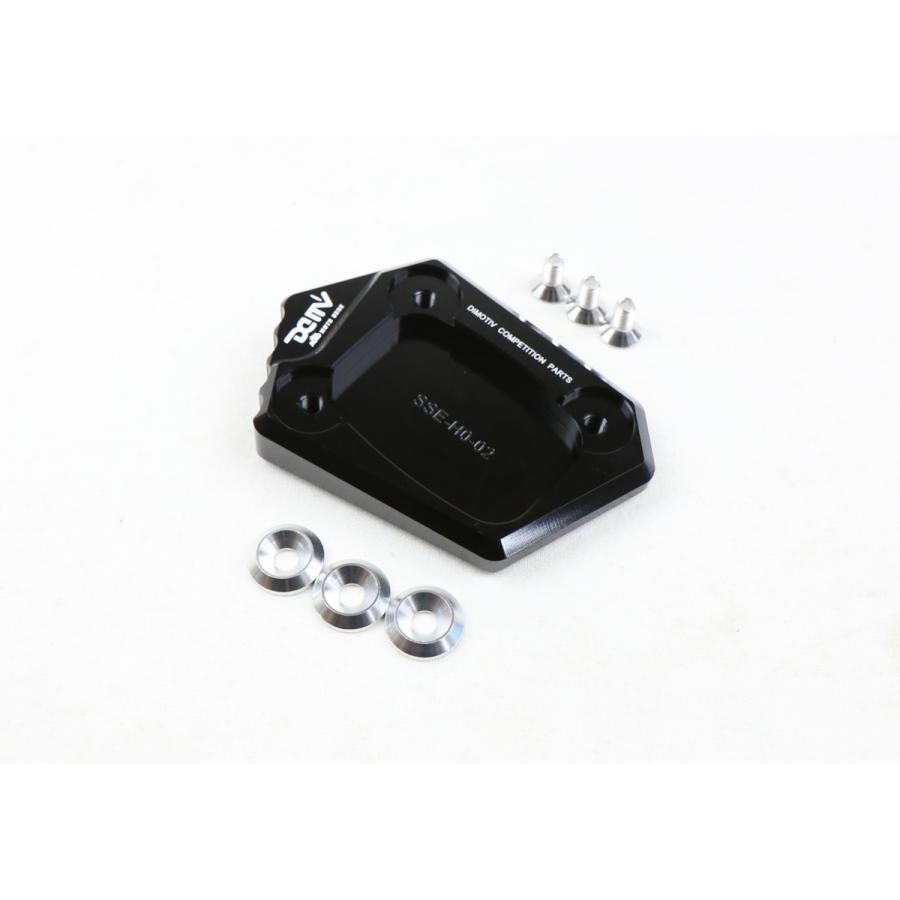 送料込 DIMOTIV di-sse-ho-02-k サイドスタンドエンドNC700 限定価格セール NM4 CBR600F 商品 CBR650F ブラック CB400