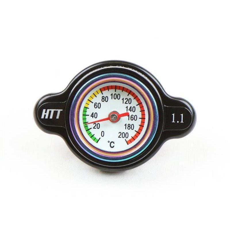 TC148-11 バイク用 水温計付き ラジエーターキャップ 1.1kg cm2 いよいよ人気ブランド CRF450R YZ250 RMZ450 CRF250R YZF-R1 RM250 最新アイテム WR250R KX250