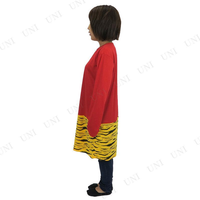 コスプレ 仮装  節分 鬼 衣装 [2種類セット] Patymo 赤鬼ロングTシャツ+34cm メンズ party-honpo 03