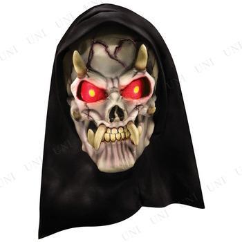 レッドデイモンマスク 衣装 コスプレ ハロウィン パーティーグッズ かぶりもの 怖い