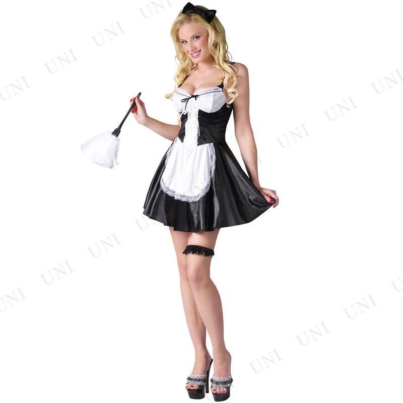 コスプレ 当店一番人気 推奨 仮装 メイド 衣装 ハロウィン ML 余興 レディース フレンチメイド