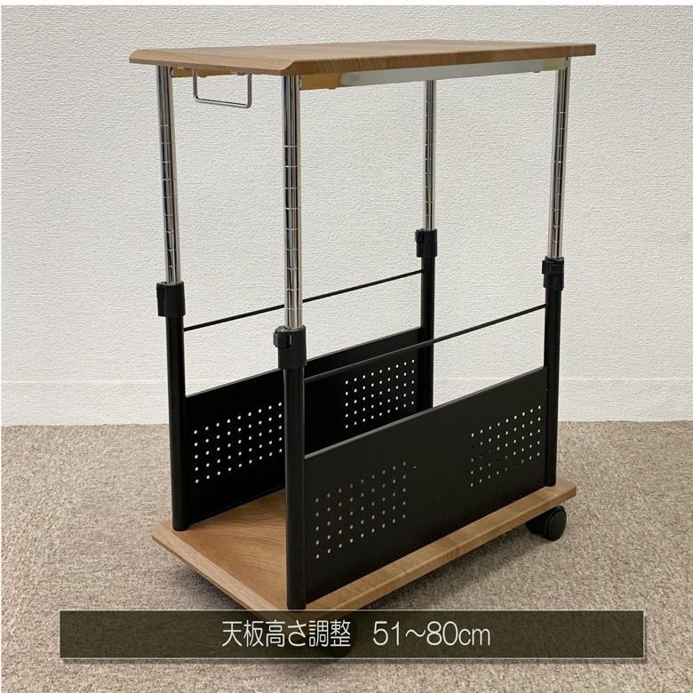 Sale 限定セール中 PJC-7201 ・CPUスタンド・CPUワゴン・パソコンワゴン・【上下昇降 51〜80cm】PJC-7201 -WD -WH 【お客様による組み立て式です】|pascal-japan|07